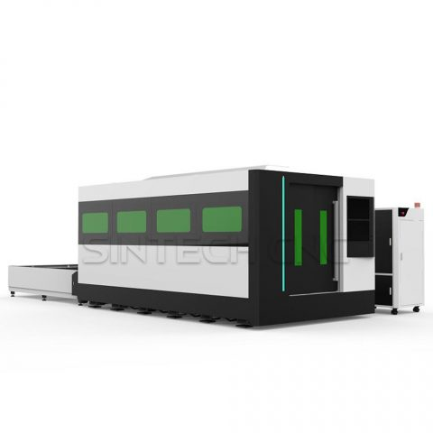 STB-1530-Fiber-Laser-Cutting-Machine-Full-cover-and-exchange-table