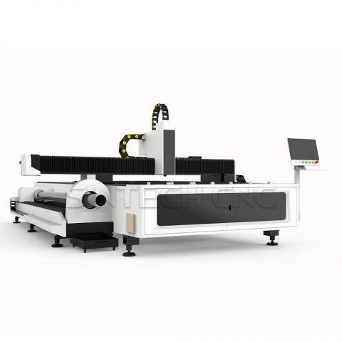 STB-1530-Fiber-Laser-Cutting-Machine-With-Pipe-Cutting-Attachment